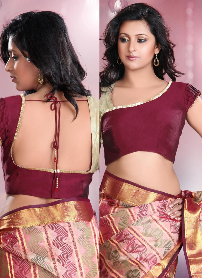 Indo-Canadians Dress for Success: Saree Blouse Designs 2013 ...
